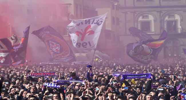 Thousands Gather In Florence For Astori's Funeral