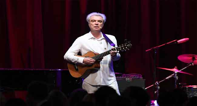 David Byrne Scores First Top 10 Album In United States