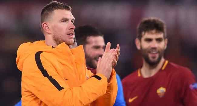 Dzeko Strikes To Take Roma Into Champions League Last Eight
