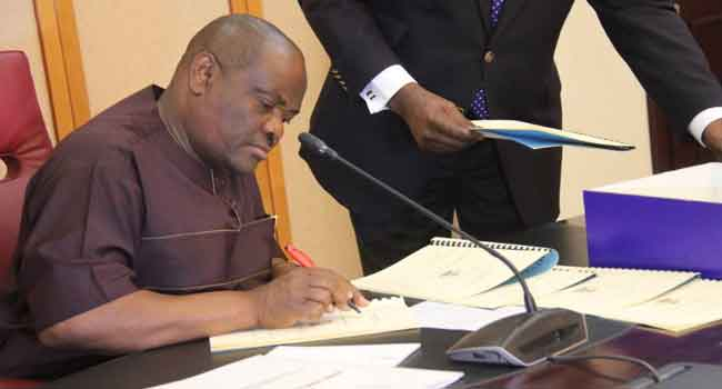 Wike Submits Report Card After 100 Days