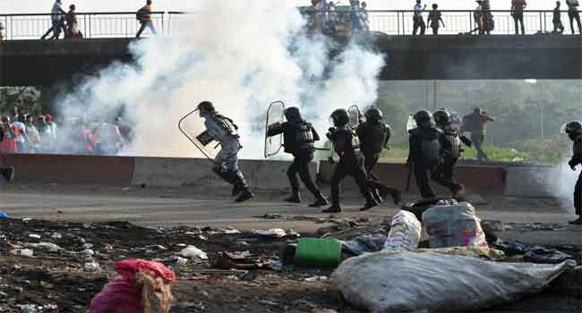 Ivory Coast's Security Forces Stop Opposition March