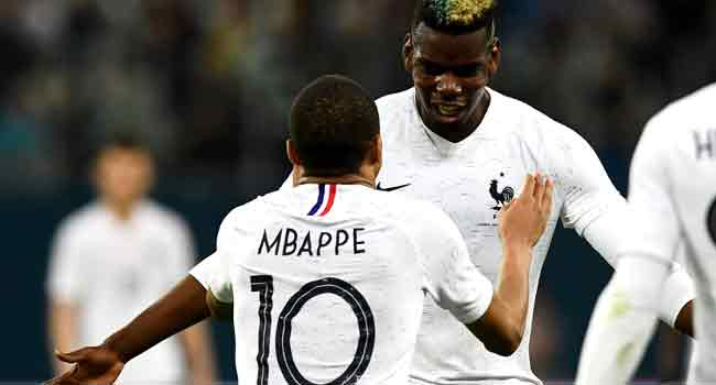 Mbappe Stars As France Cruise Past Russia