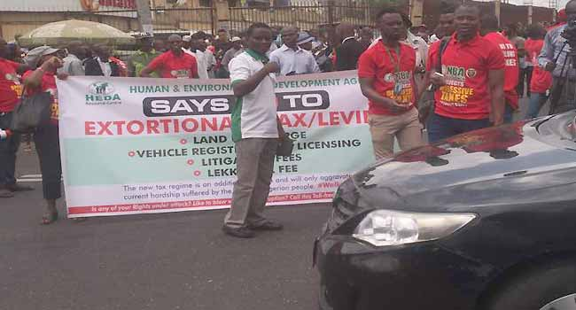 Lawyers Stage Protest Over Lagos Land Use Charge
