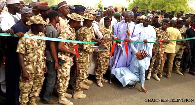 Military Reopens Maiduguri-Bama-Banki Road