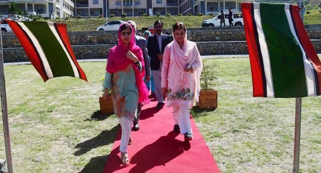 Malala Visits Pakistan District Where She Was Shot