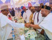 Buhari, Governors Attend Osinbajo's Daughter's Wedding