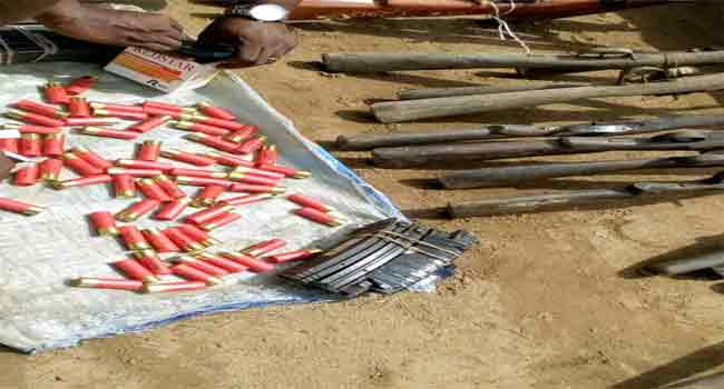 Police Recover Illegal Arms In Abia