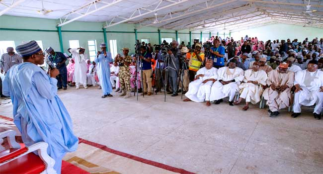 Schoolgirls Abduction: Unlike Jonathan's Administration, We're Leaving No Stone Unturned – Buhari