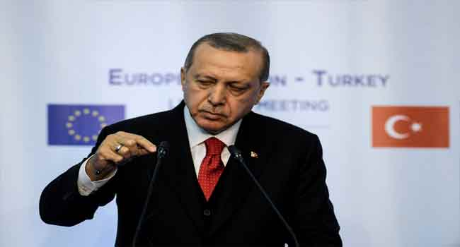 Erdogan Slams World's 'Silence' On 'Israel's Tyranny'