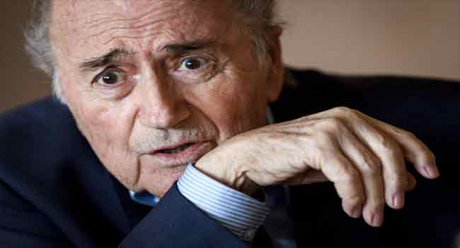 Blatter Wants An End Into Corruption Probe