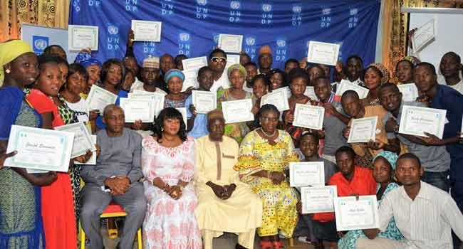 UNDP Trains 150 Insurgency Victims In Entrepreneurship Skills