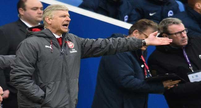 Wenger Defiant As Brighton Rock Arsenal