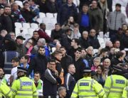 West Ham Owner Hit By CoinAfter Loss To Burnley