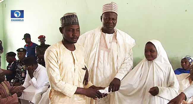 Freed Dapchi Schoolgirls Reunite With Their Parents