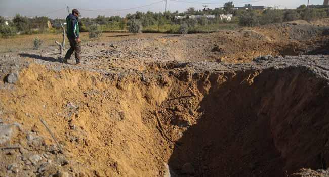 Israel Bombs Gaza 'Underground' Complex After Blast