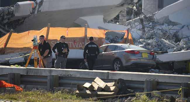Investigators Hunt For Clues After Miami Bridge Collapse Kills Six