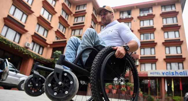 Australian Paraplegic Aims To Reach Everest With Wheelchair