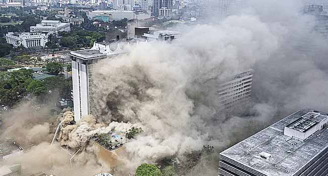 Four Killed, 19 Trapped In Philippine Hotel Fire