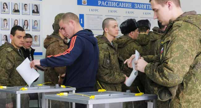 Russian Presidential Election: Polls Open In Moscow