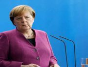 BREAKING: German Chancellor Angela Merkel Arrives In Nigeria