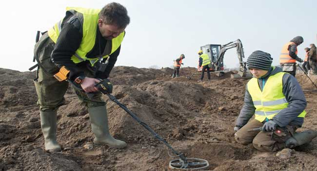 Boy Unearths Legendary Danish King's Trove In Germany