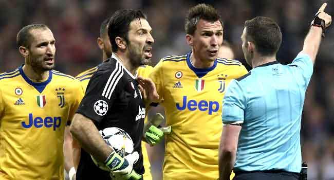 Referee 'Has No Heart', Buffon Reacts To Juventus Champions League Exit