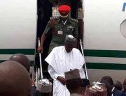 President Buhari Arrives Bauchi