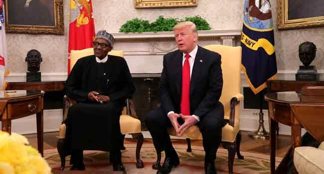 Buhari Meets With Trump, Blames Killings On Libyan Crisis