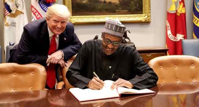 'You Deserve Some Accolades,' Aisha Hails Buhari After Trump Meeting