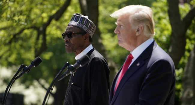 President Buhari's Full Statement At Briefing With Trump