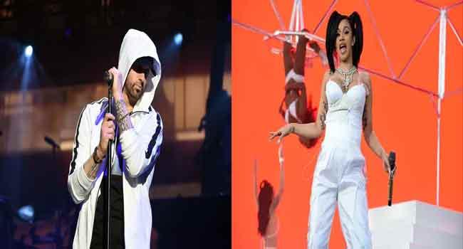 Eminem, Cardi B Thrill Audience At Coachella Music ...