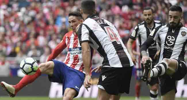 Torres, Griezmann On Target As Atletico Thrash Levante