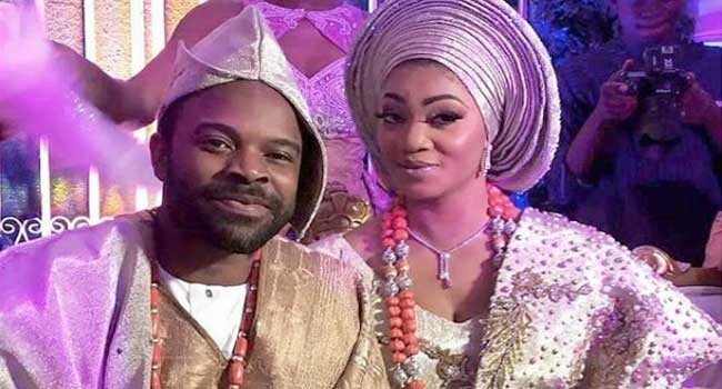 Nollywood Stars Storm Ibadan For Gabriel Afolayan's Wedding