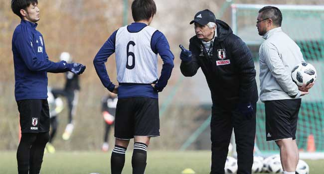 Japan Dumps Former Coach, Appoints Nishino Ahead 2018 World Cup