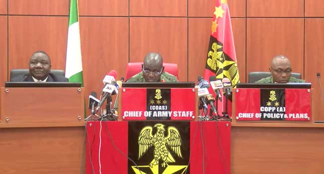 Military Sets Up Committee To Investigate T.Y. Danjuma's Claim