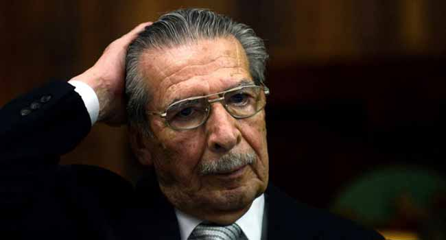 Former Guatemala Dictator Rios Montt, Accused Of Genocide Dies At 91