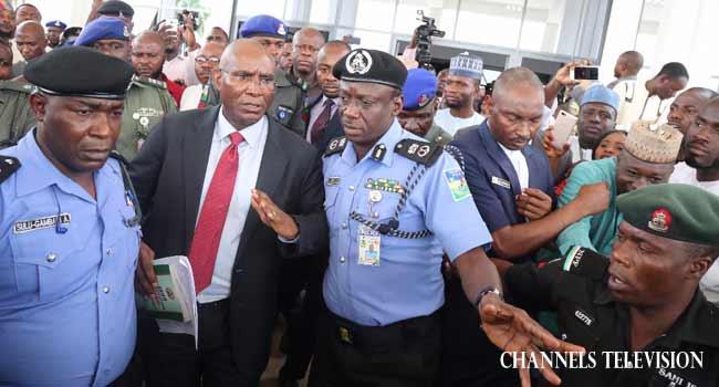 Police Arrest Senator Omo-Agege