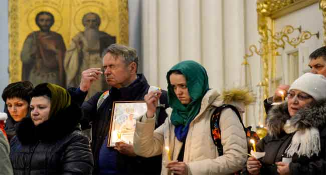 Russia Mourns Victims Of Saint Petersburg Metro Bombing