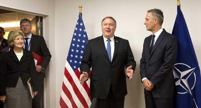 Pompeo Briefs Saudi, Israel On Plans For Iran