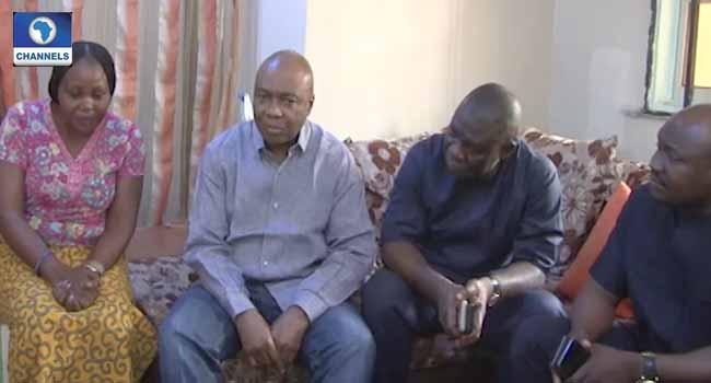 Senate Invasion: Saraki Visits Injured NASS Official