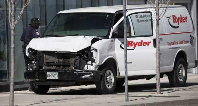 Several Feared Dead As Van Runs Over Toronto Pedestrians
