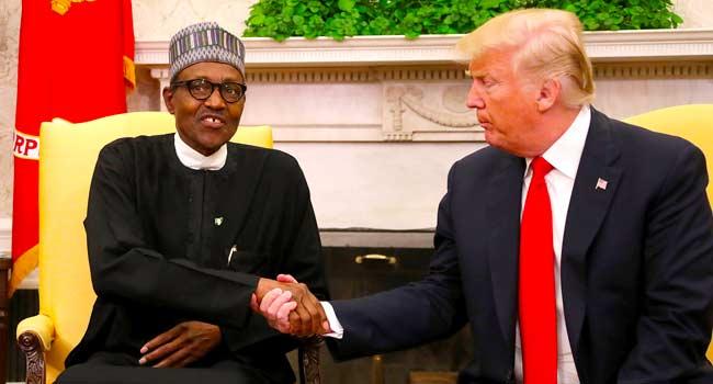 NigeriaAt59: Trump Writes Buhari, Congratulates Nigerians