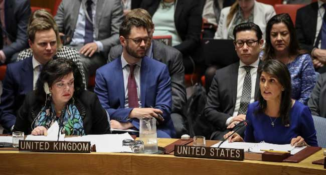 The UN Security Council meets on the strikes in Syria
