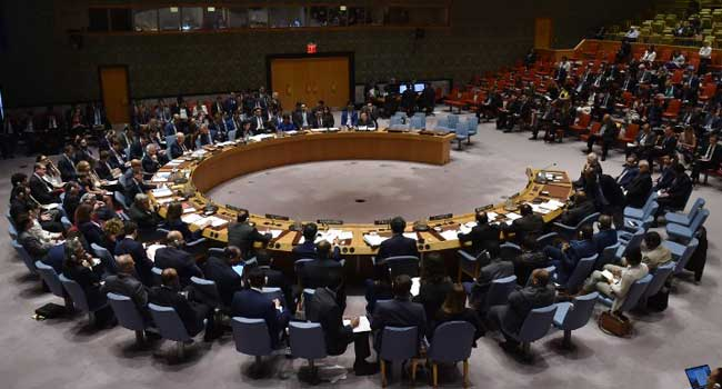 UN Security Council Meets On Syria Strikes