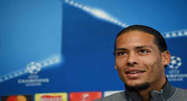 Liverpool's Van Dijk Set For City Acid Test