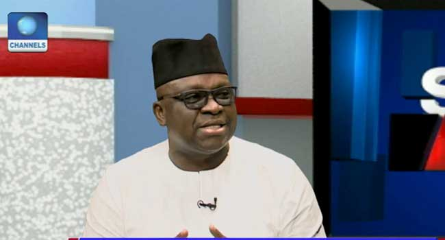 FG Is Spending Money That Belongs To Three Tiers Of Govt – Fayose