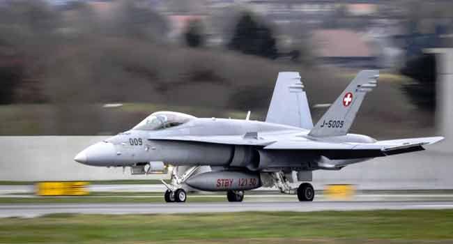 Pilot Dies In Military Plane Crash
