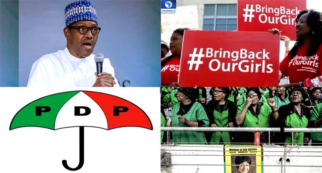Review: Buhari's Declaration Sparks Mixed Reactions, Chibok Girls Remembered, Others
