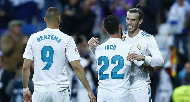 Bale Scores Brace As Real Madrid Smash Six Past Celta Vigo