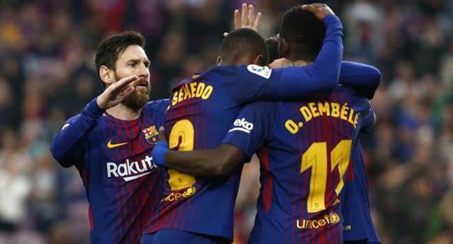 Dembele Double Edges Barcelona Closer To Unbeaten Season